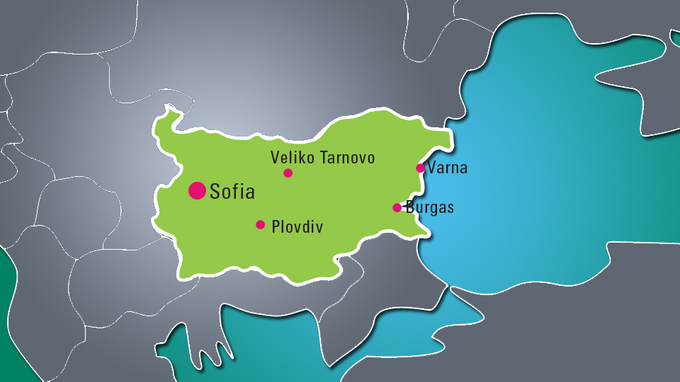 Major Bulgarian Cities
